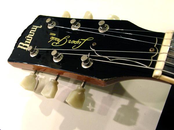 burny super grade model rlg 60 les paul teenarama used guitar and